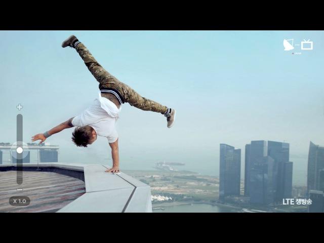 세상에서 가장 아찔한 고공 비보잉 _ 2014 세계 챔피언 갬블러 크루 ( 박인수 , 신규