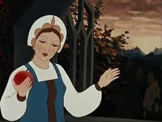 Сказка о мертвой царевне и семи богатырях, мультфильм 1951г.