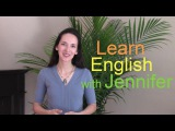 Welcome to English with Jennifer! A message to new visitors.