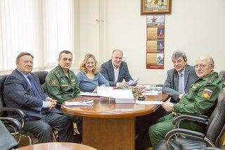 Встреча с представителями Воен...