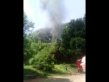 Пожар на Либкнехта 20. 03.07.2015