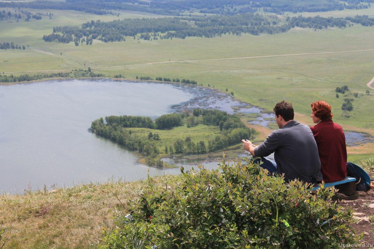 На горе Ауштау