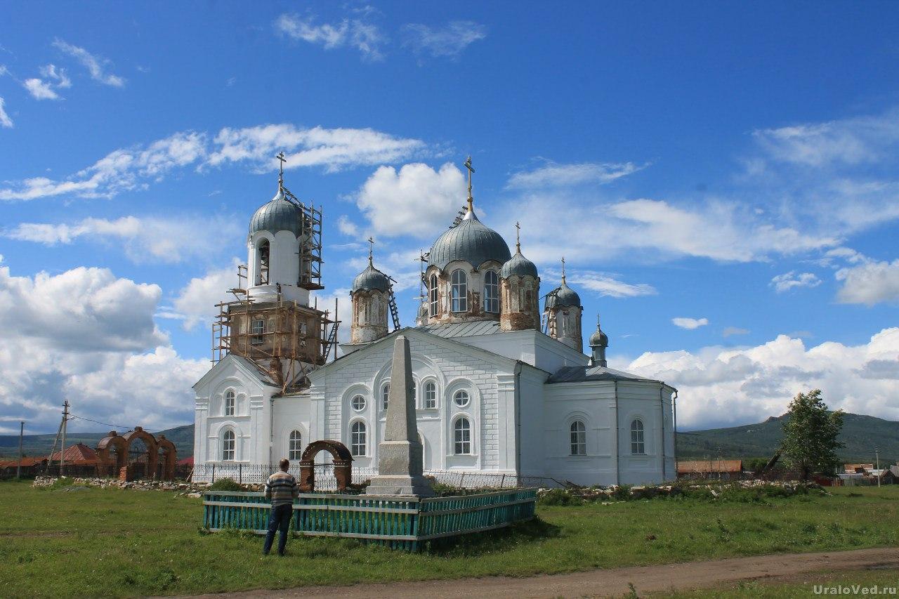 Церковь в селе Вознесенка