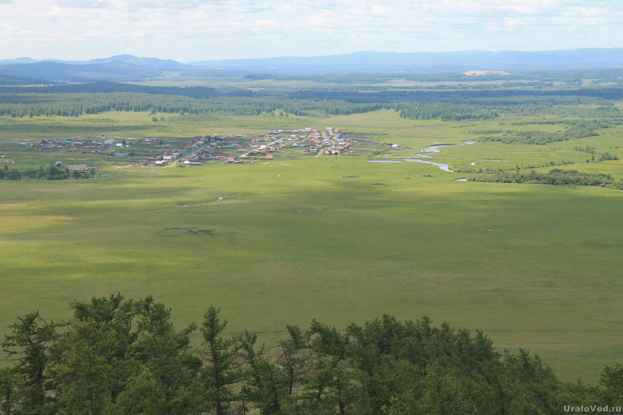 Вид на реку Урал