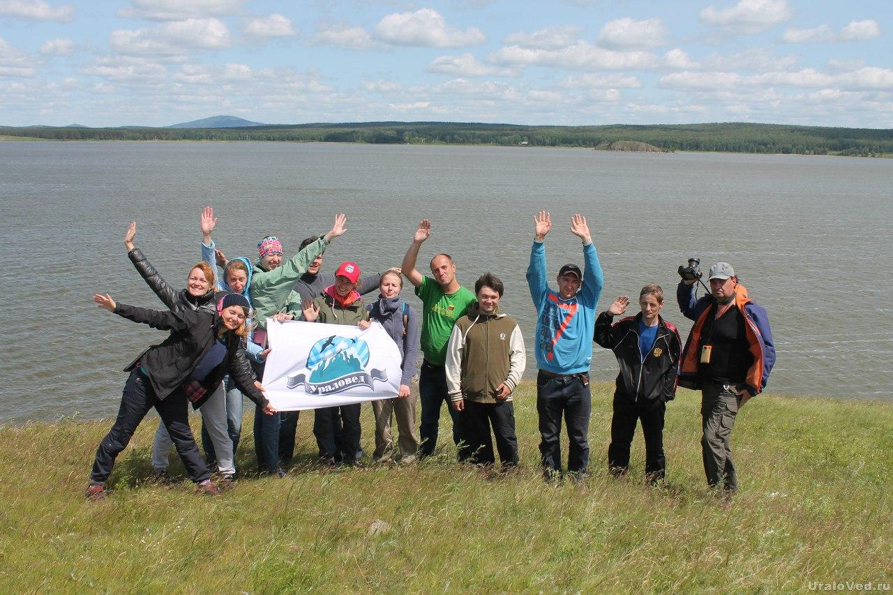 На озере Ургун