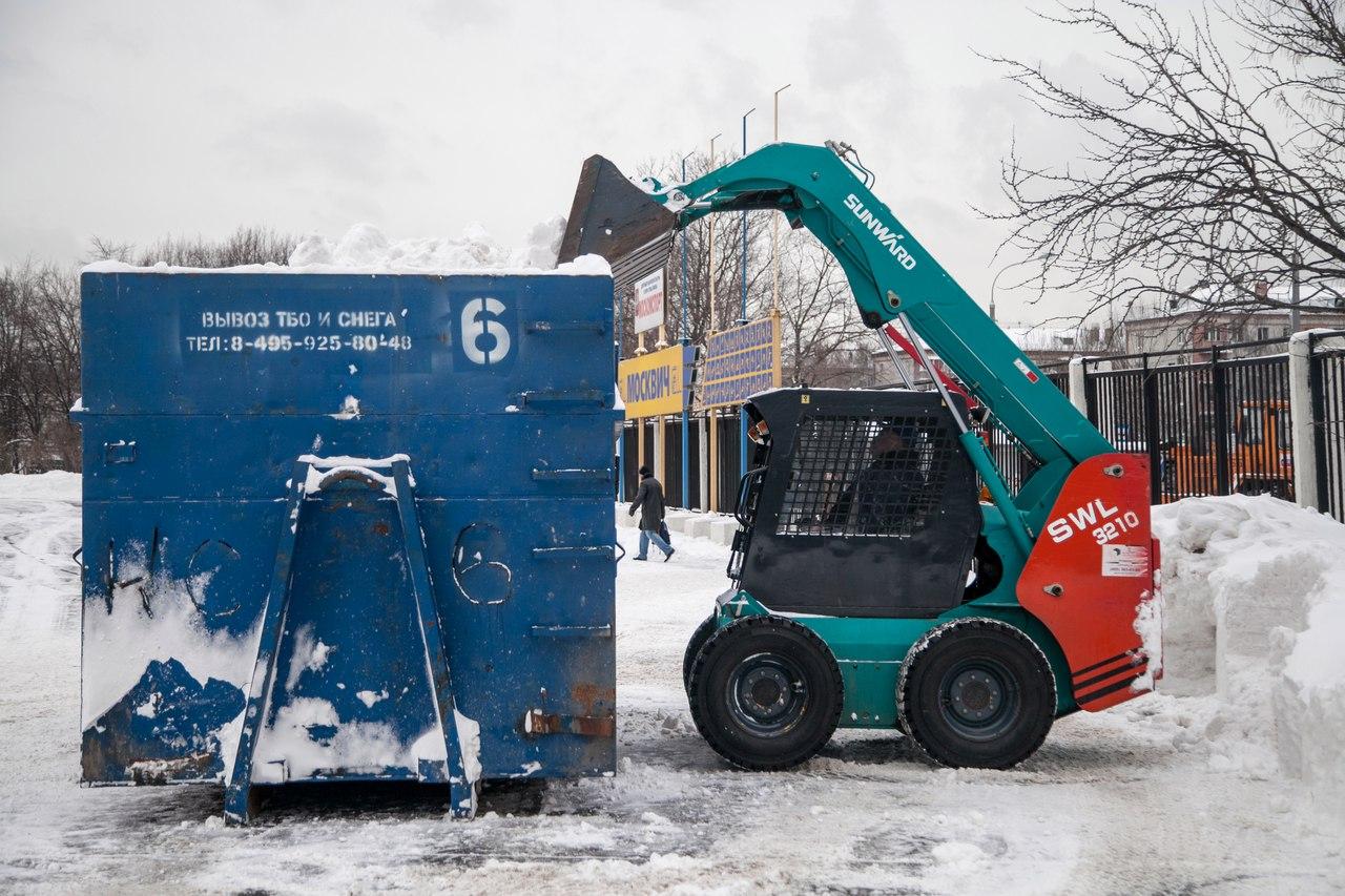 В Москве с начала года выпало две трети годовой нормы снега