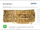 Манускрипт о Иисусе (Радомире) и его жене Магдалине