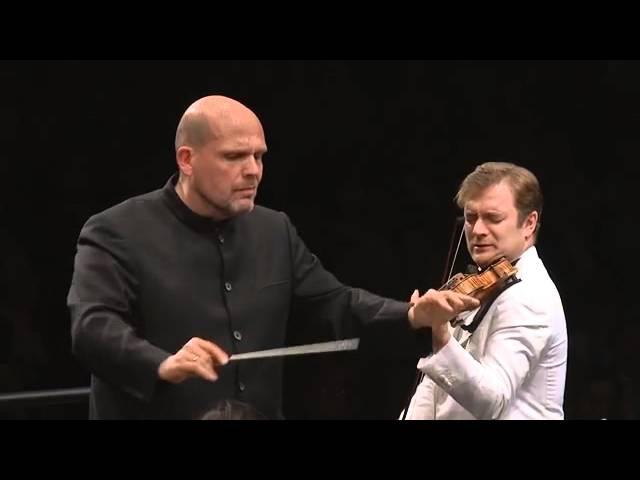 Renaud Capuçon - Mendelssohn Violin Concerto in E minor, Op.64 - Jaap van Zweden