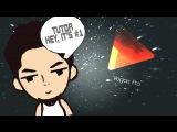 Tutorial #1 - Создаем проект / Сохраняем в HD / Как визуализировать видео