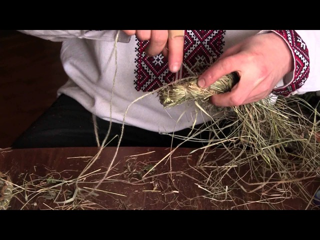 Плетение из сена. Возрождение ремесла.