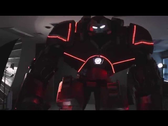 The Man in the Machine Hulkbuster suit Extreme Costumes Костьм Халкбастер
