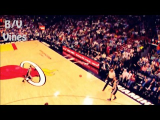 Hassan Whiteside Swats the Rock Out of Bounds