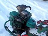 MTZ 05 по снегу