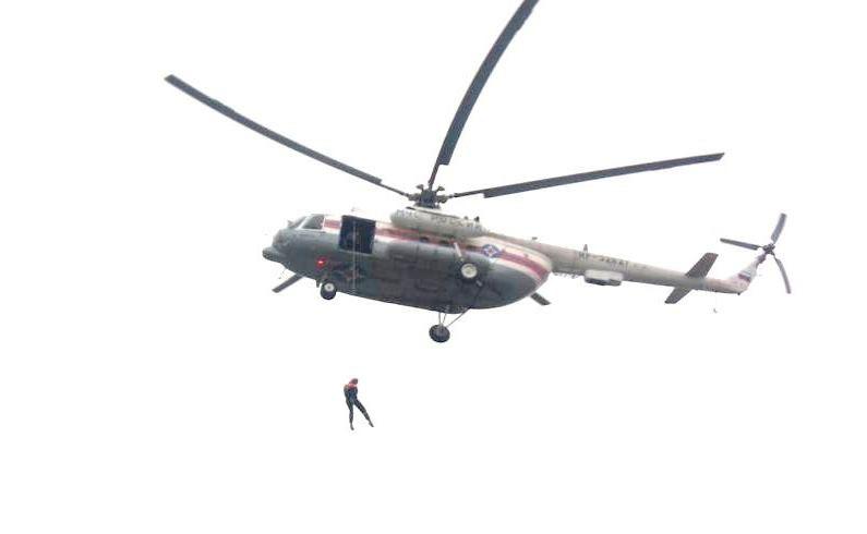 В Ростовской области проходит десантная подготовка спасателей