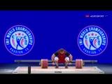 Установка мирового рекорда, в толчке 264 кг Алексей Ловчев
