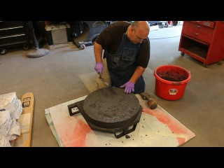 Building an Oil Fired Foundry Furnace - Part 3: Casting the Base Refractory