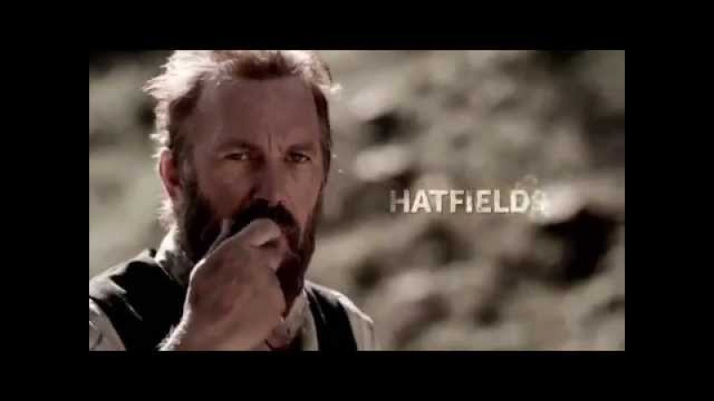 Хэтфилды и МакКои / Hatfields and McCoys - Трейлер 2012