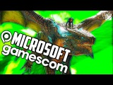 Конференция Microsoft на Gamescom 2015 - Quantum Break, Crackdown 3 и Scalebound!