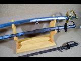 Кью Гунто - настоящие японские мечи предыдущего века - историческое оружие