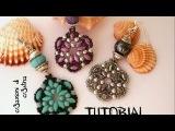 Tutorial Orecchini TANTI AUGURI SuperduoTwin beads, Perle, Bicono Swarovski 3 mm, Rocailles (12)