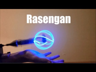 Самодельный Rasengan! (Косплей Наруто)
