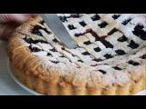 Ягодный пирог с начинкой из варенья и замороженных ягод| начинки для пирогов