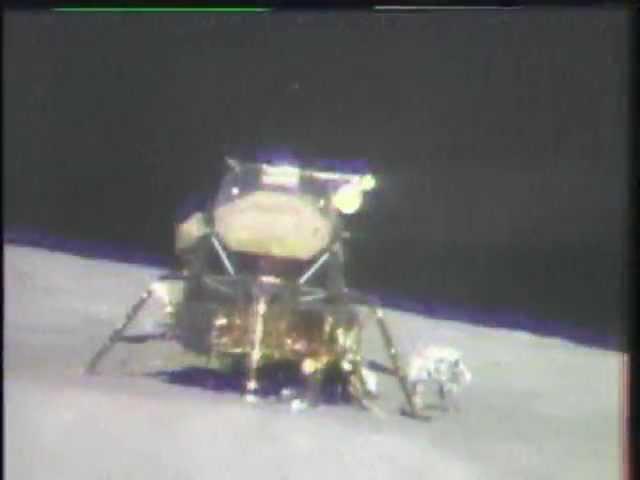 Apollo 16 - Preparation for the liftoff