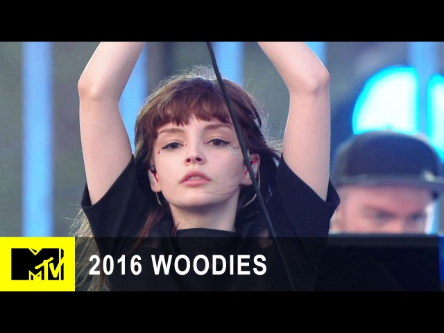 Chvrches Performs Leave A Trace at MTV Woodies/10 for 16 Festival | 2016 Woodies | MTV