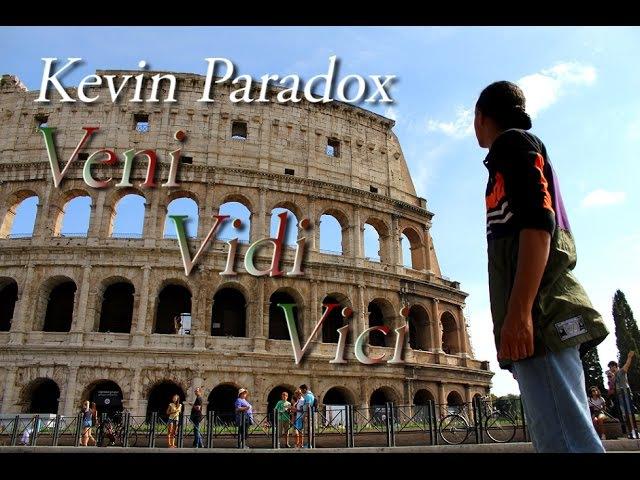 Kevin Paradox | Veni Vidi Vici | Colosseum in Rome