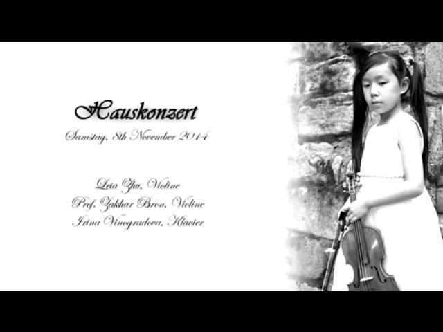 Max Bruch's Violin Concerto No.1 in G Minor | Leia Zhu (8)