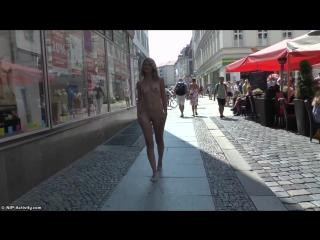 Izzy Nude in Public 2