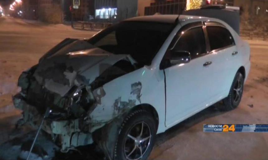 На дорогах Якутска растет число автоаварий с участием нелегальных таксистов