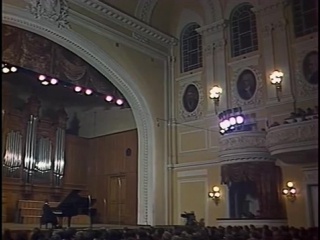 Pletnev plays Tchaikovsky, Scriabin, Prokofiev, Glinka-Balakirev (live 1983)