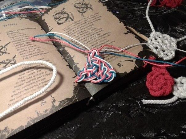 Схема плетения узелка-науза