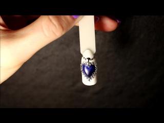 Литье на ногтях - Жидкие камни - маникюр гель лак - уроки дизайна Донецк