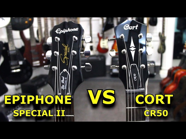 EPIPHONE SPECIAL II VS CORT CR50 - Guitar Battle 3