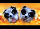 How to make crafts Ribbons animal Panda, DIY craft ideas / Поделки из ленточек - Панда