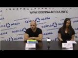 Ярощук Максим - глава Всеукраинского Народного Объединения на открытой пресс конференции.Тема :АТО.