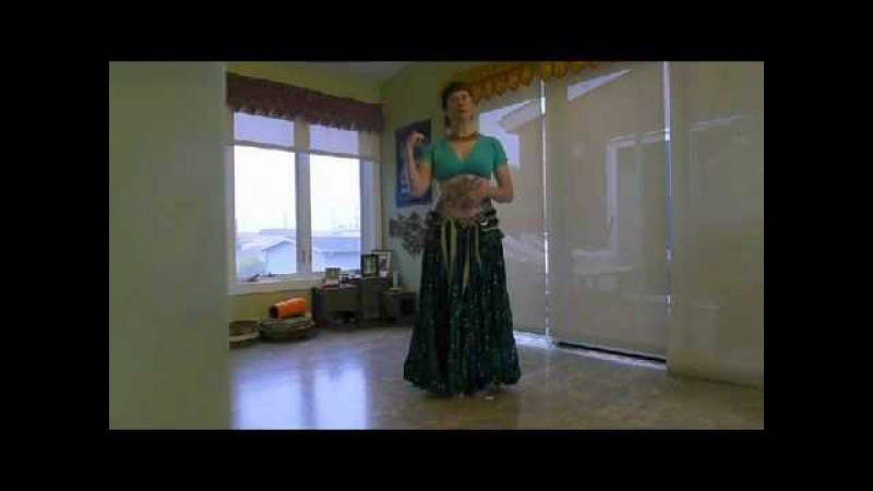 Tribal Dance Drill - Circle Step and Torso Twist.avi