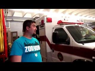 Обзор пожарной части в США -  часть 2