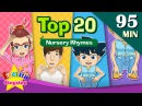 Head, Shoulders, Knees and Toes More Nursery Rhymes | Top 20 | Collection of Kids Songs