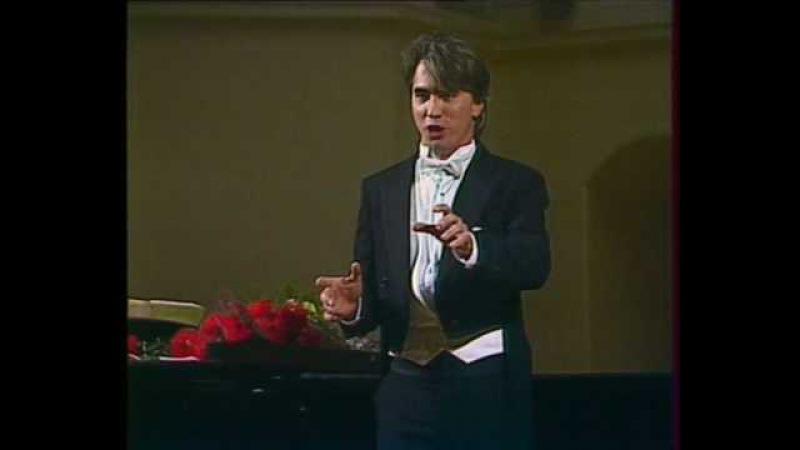 Hvorostovsky: Rachmaninoff recital 1990 10/12 Cavatina of Aleko
