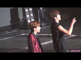 Fancam [150905] Infinite (Sunggyu) - Talk • «Infinite Effect» в Тайбэе