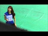 150810 아이돌 육상 선수권 대회 러블리즈 미주