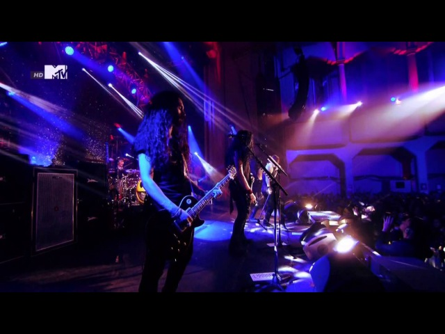 Slash Anastasia Slash MTV EMA World Stage 2014 HD