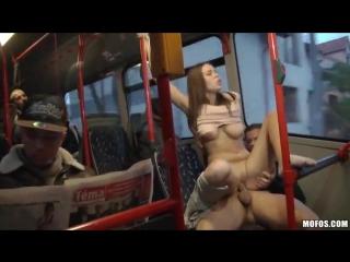 Public sex city bus footage bonnie shai