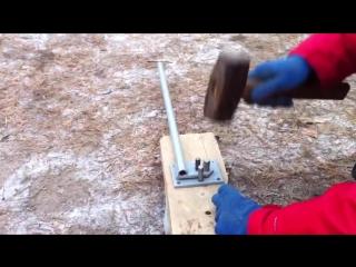 Ручной станок для гибки арматуры 3