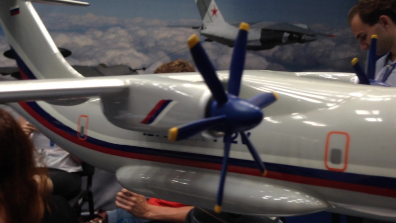 IATF 2014. Принцип работы самолета Ил-112В