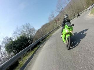Kawasaki ZX636 vs Yamaha R1