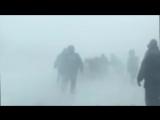 Снежный плен на трассе Оренбург-Орск, 03.01.2016